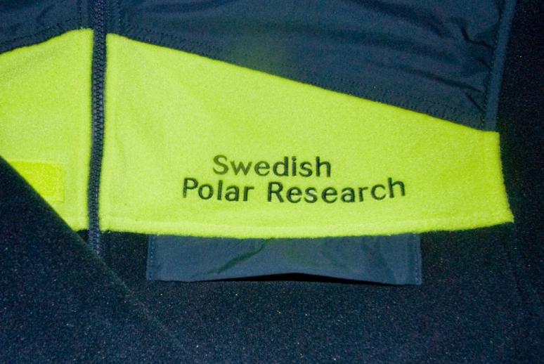 Jackan från Svenska polarforskningsinstitutet
